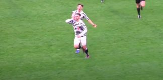 Salim Kouider-Aissa celebrates after scoring for Queen's Park | Livingston news