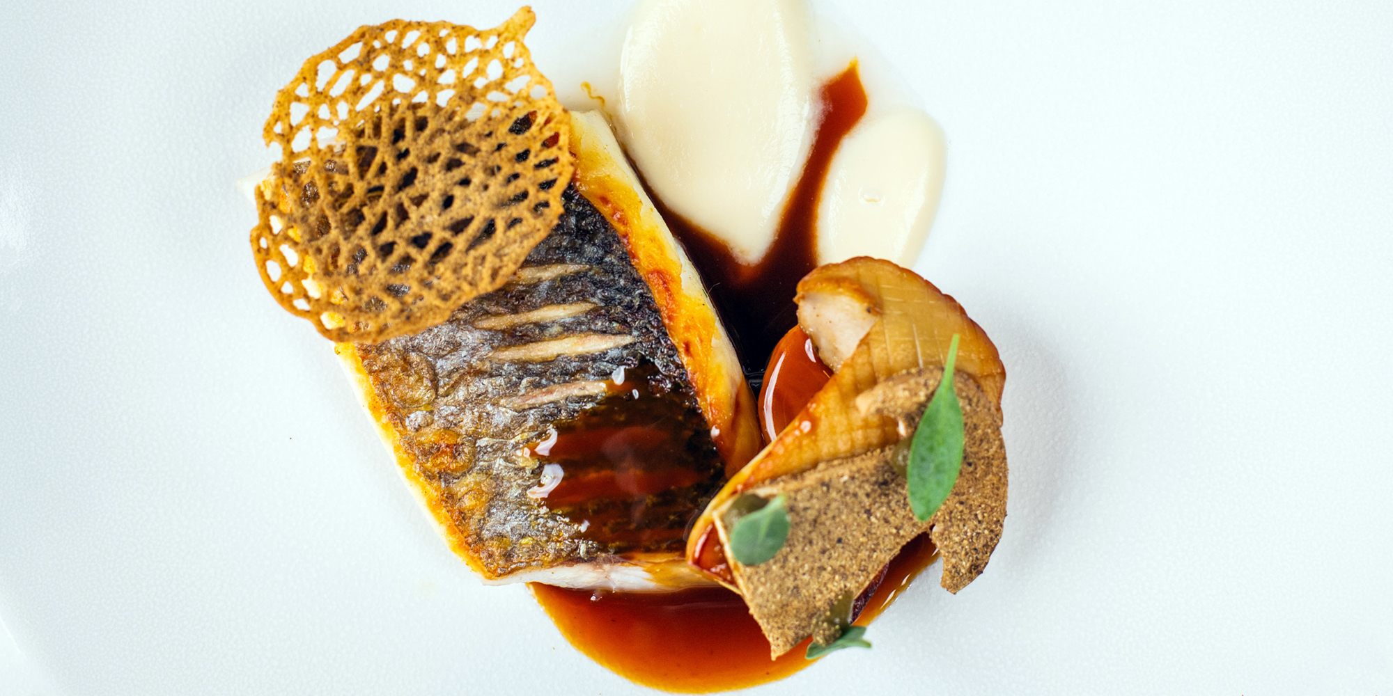 One of The Seafood Ristorante's dishes