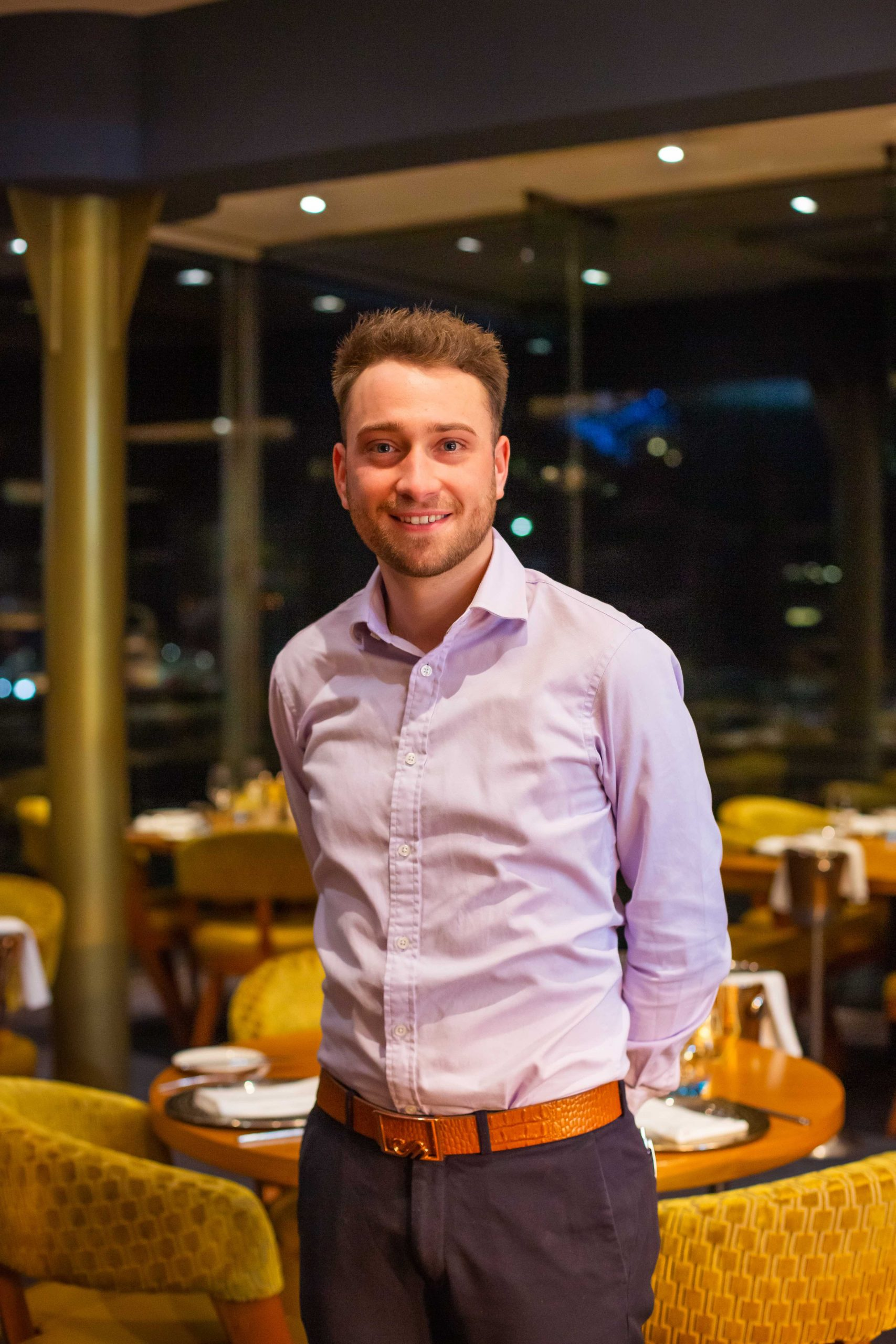 Stefano Pieraccini, Director of The Seafood Ristorante in St Andrews