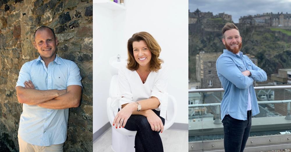 Trio of Edinburgh Entrepreneurs