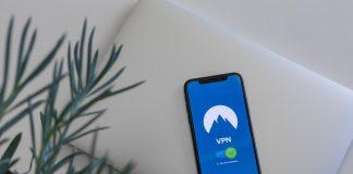 VPN app on a phone