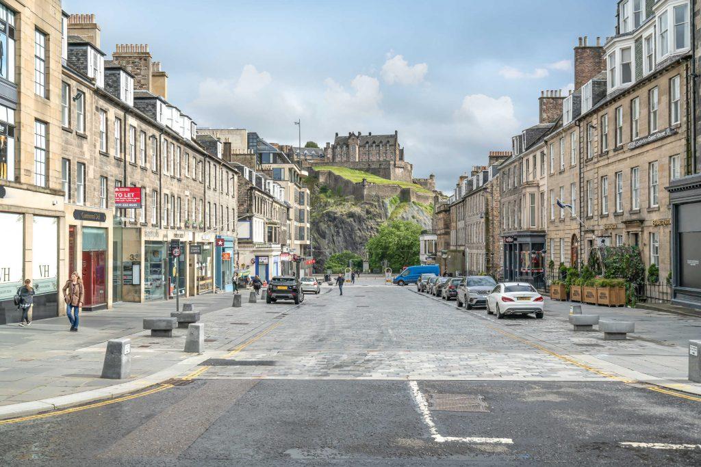 Sir Walter Scott's former home has an impressive view of Edinburgh Castle