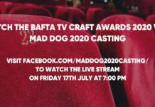 MAd Dog 2020 Casting first company outside of BAFTA to live stream event