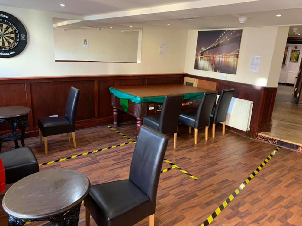 Pub owner replaces turns pool table into seating