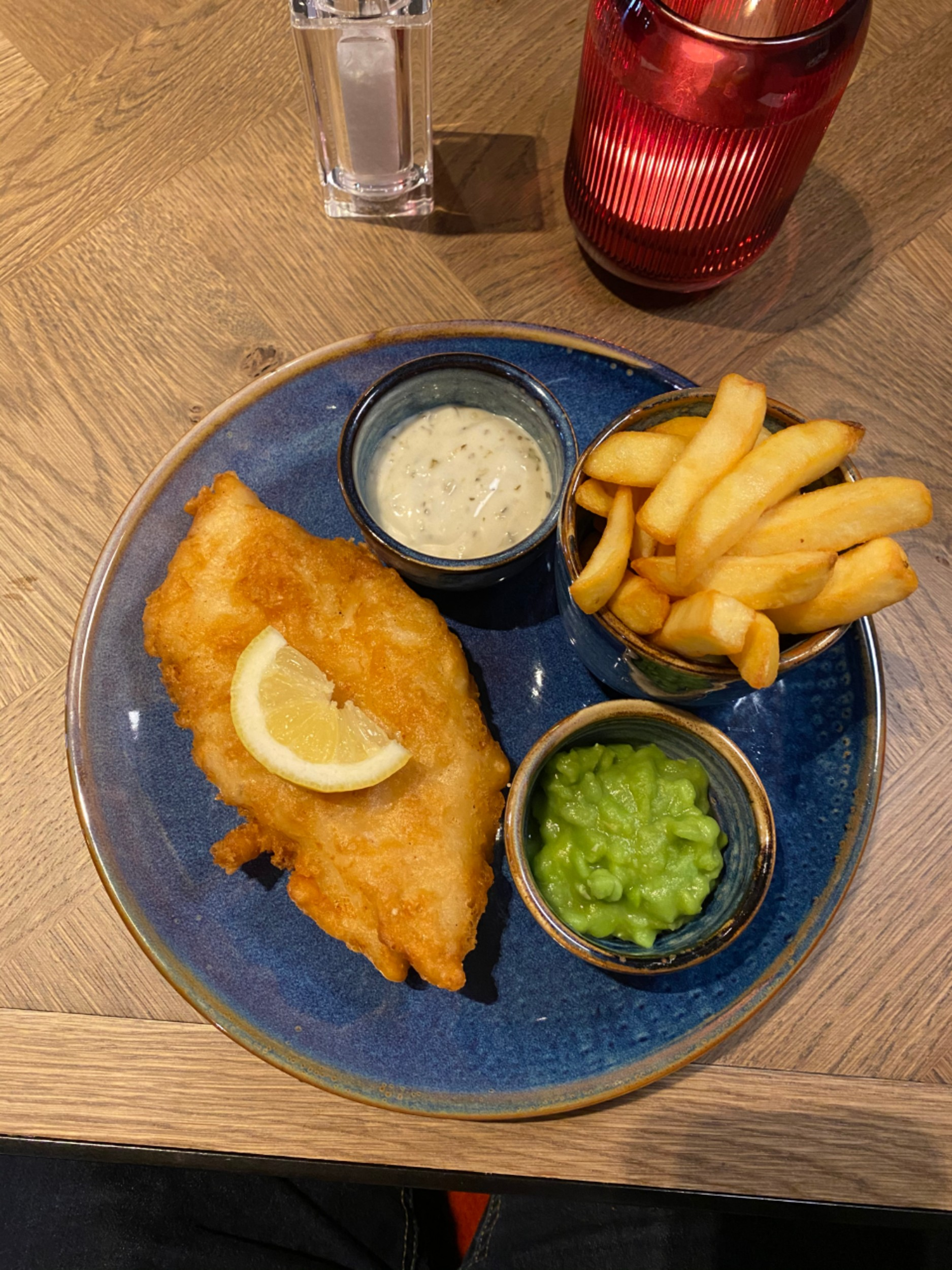 Fish and chips with tartar sauce and mushy peas- Food and Drink News Scotland