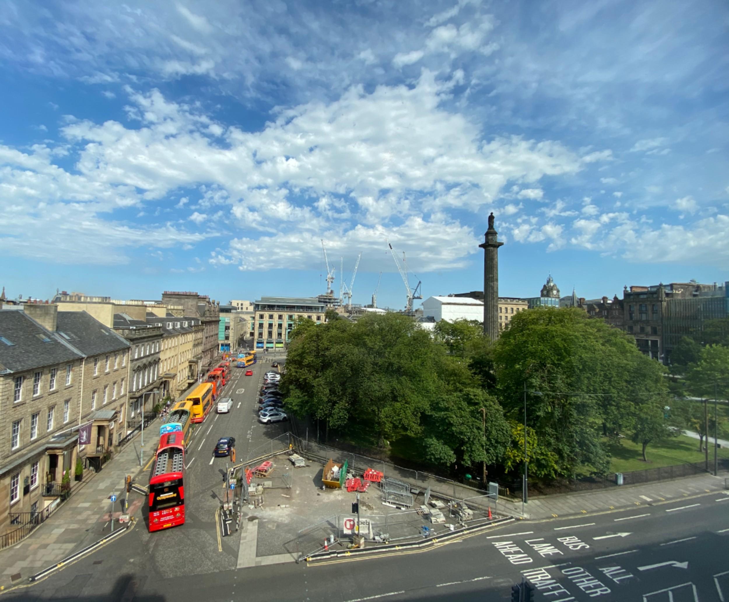 St Andrew's Square, Edinburgh.- Food and Drink News Scotland