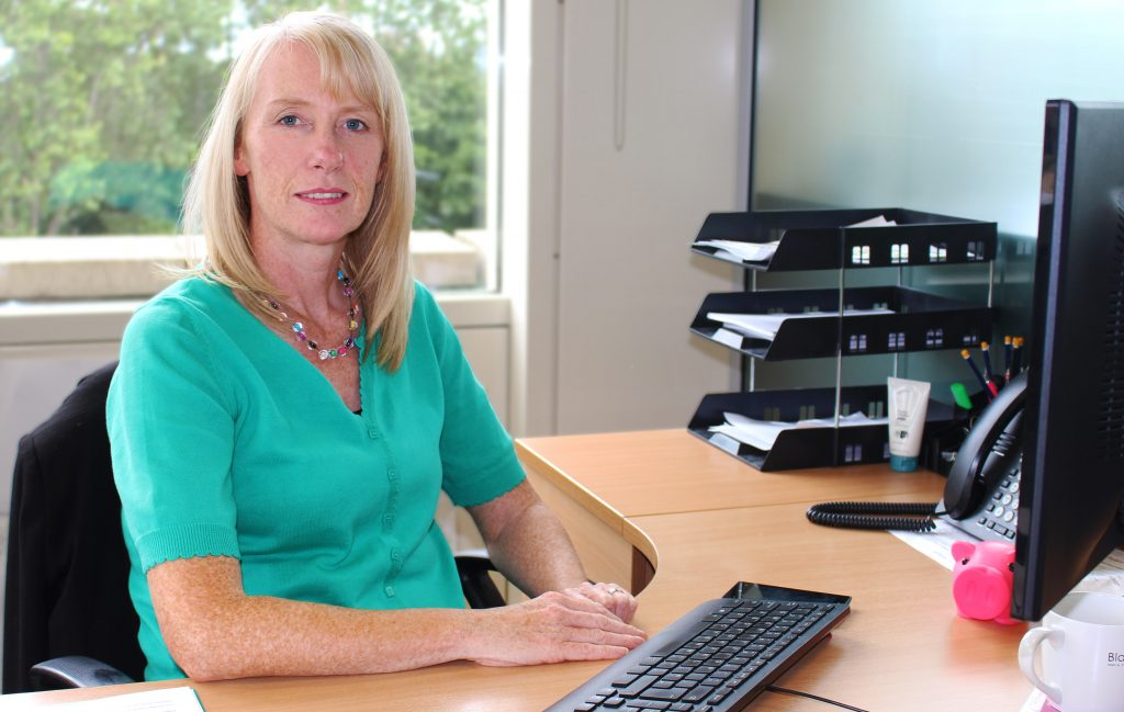 Business news story about Angela Currie of Blackwood Housing and Care in Scotland