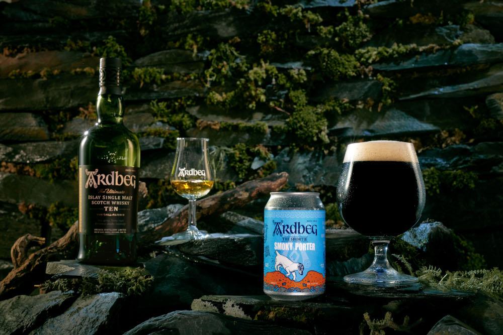 Ardbeg launch whisky beer
