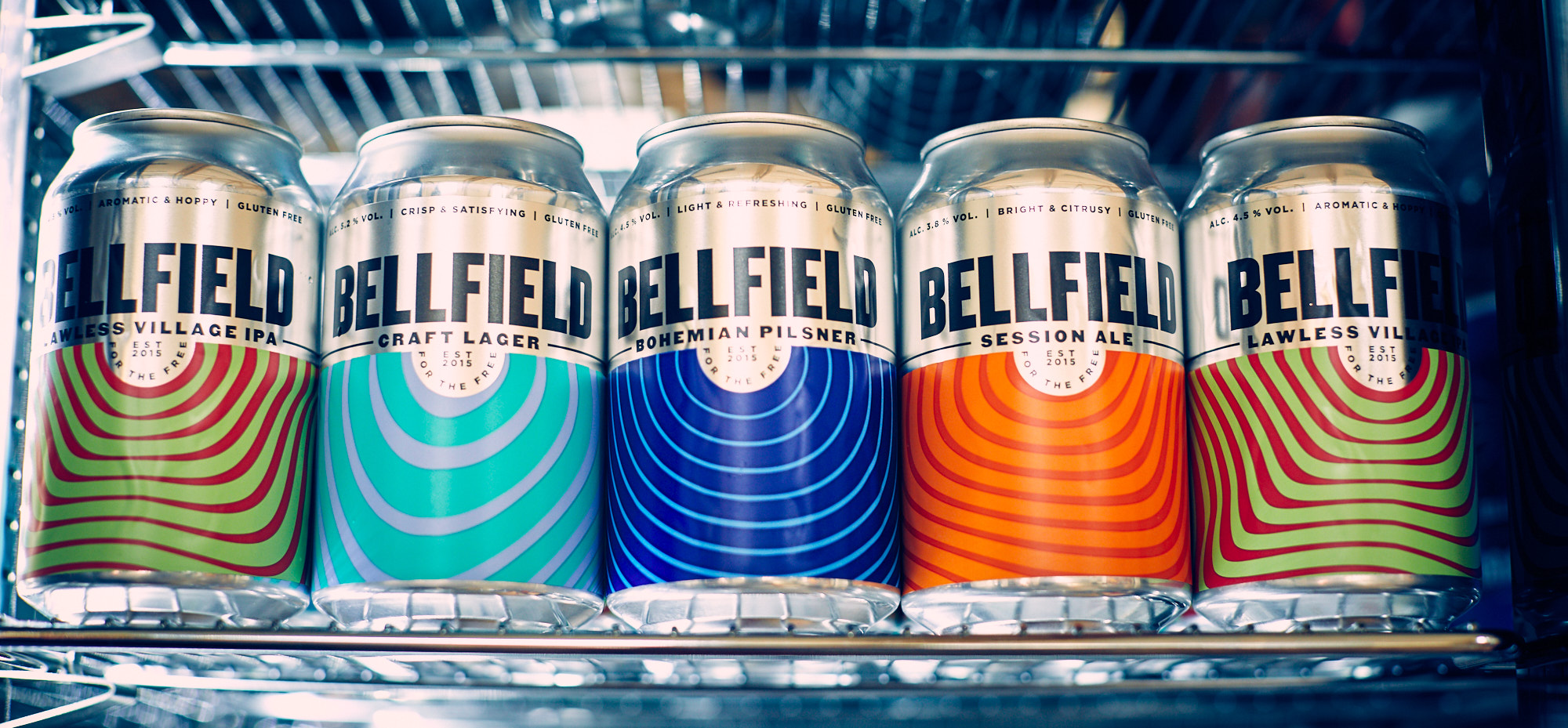 Pictures of beer cans- Food and Drink News Scotland