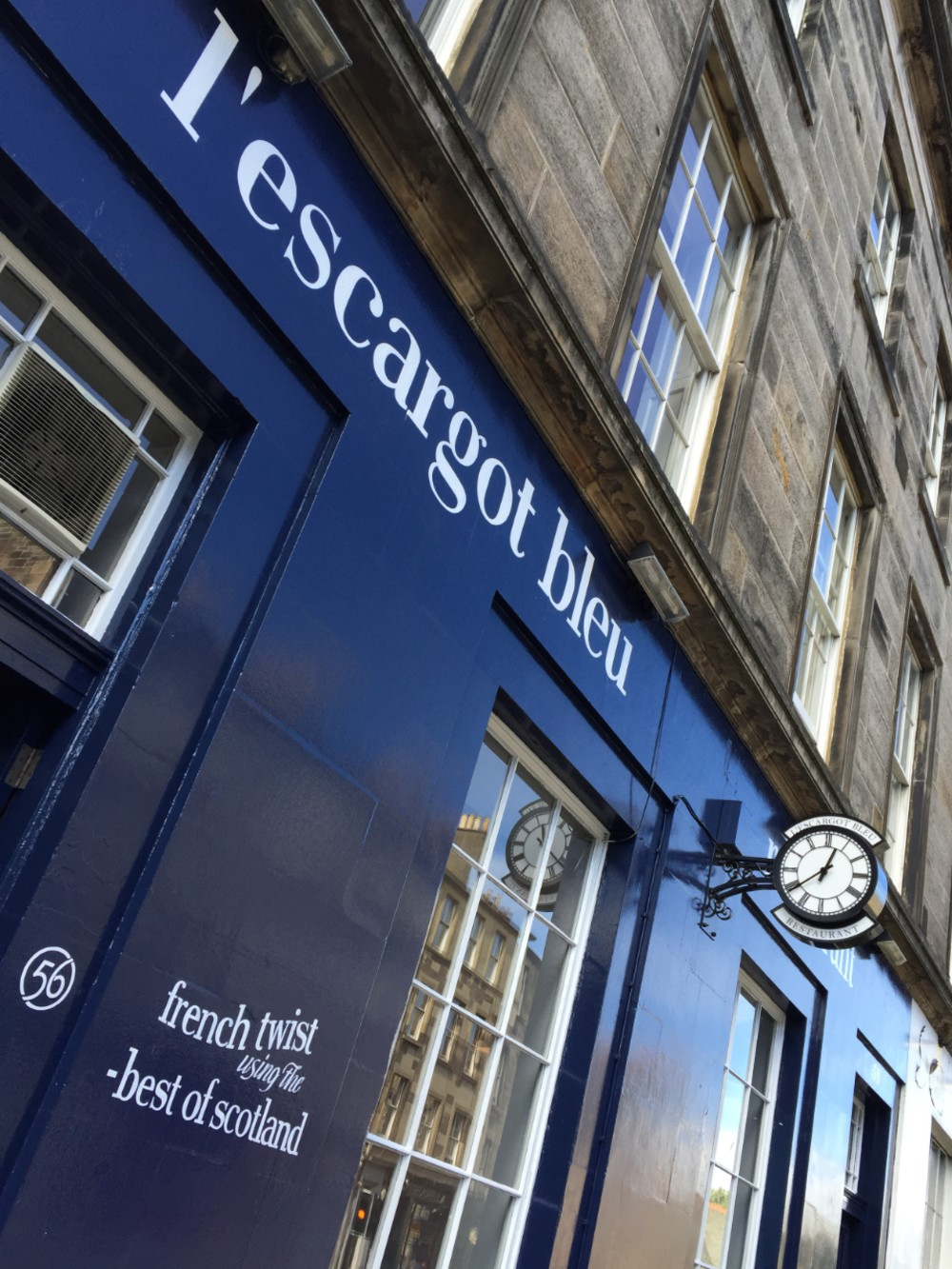 l'escargot bleu on Broughton Street re-opens this Thursday| By Deadline News- Food and Drinks News Scotland