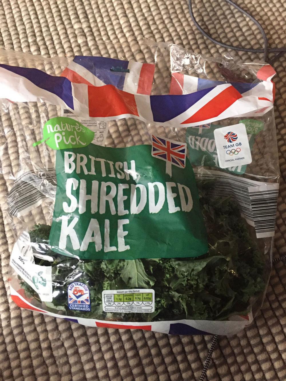 Co-op recall kale