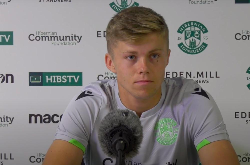Hibs prospect Fraser Murray   Hibs news