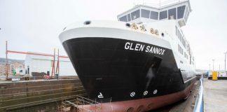 MV Glen Sannox's| By Deadline News-Business News Scotland