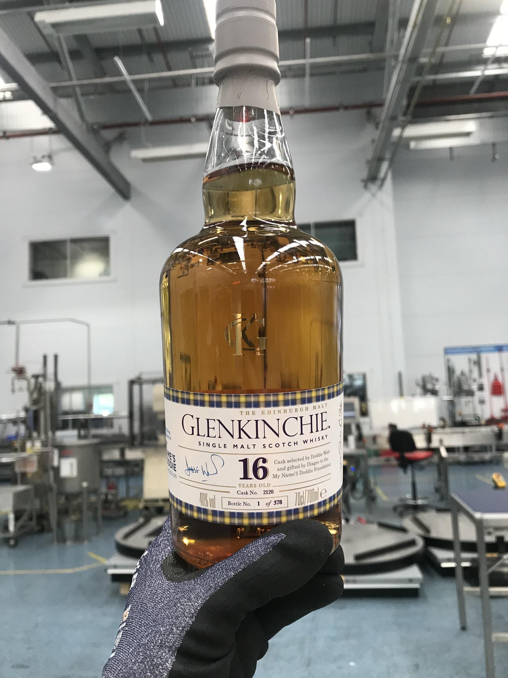 A bottle of Glenkinchie whisky- Business News Scotland