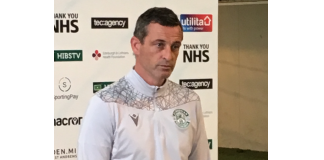 Hibs manager Jack Ross | Hibs news