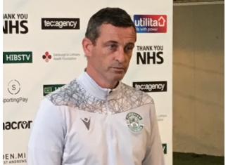 Hibs manager Jack Ross | Hibs news