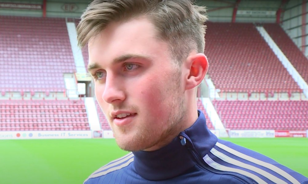 Hearts and Scotland defender John Souttar | Hearts news