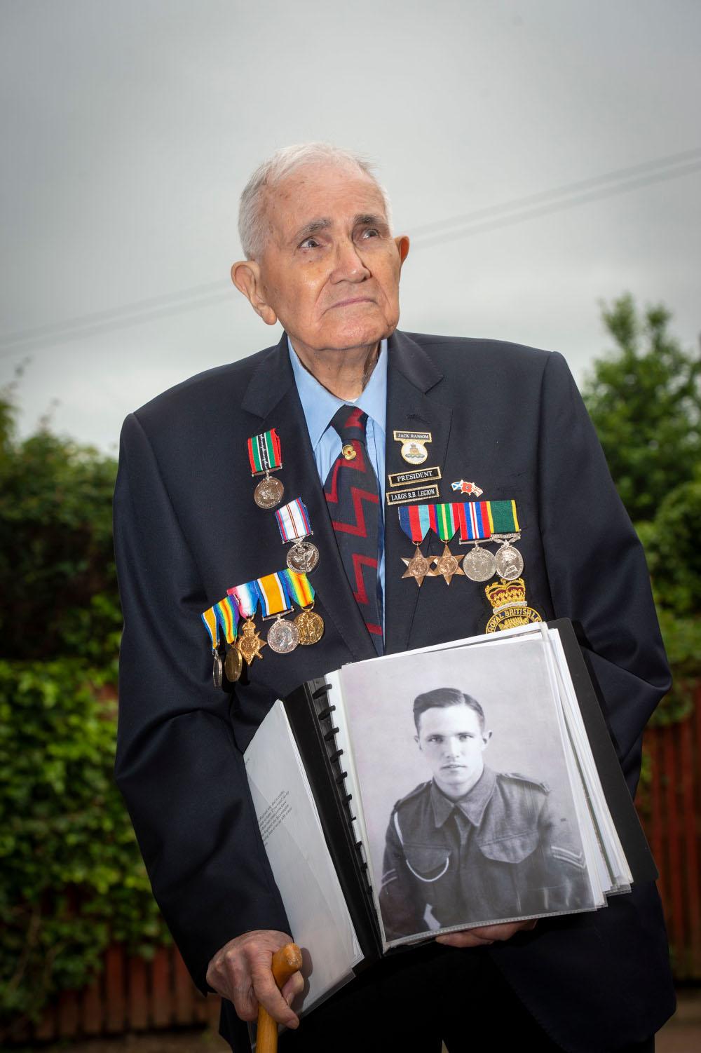 Jack Ransom VJ Day veteran