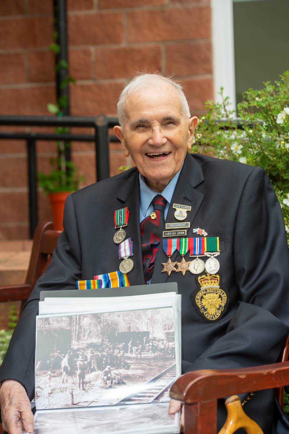 Veteran Jack Ransom