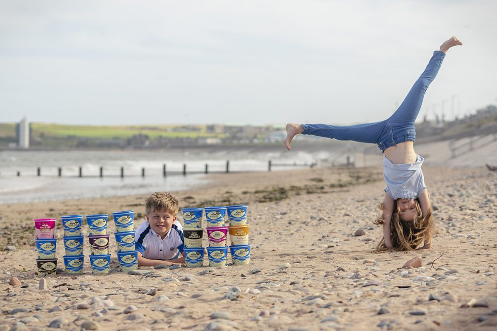 Mackie's Lifetime supply of Ice Cream Food and Drink PR photography