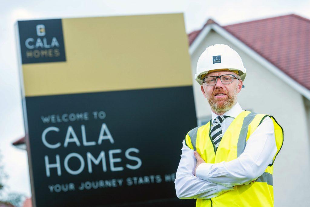 Photo of Pride in the Job award winner Mark Foley in Scottish business news story