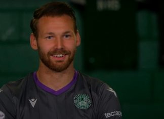 Martin Boyle after signing his new deal | Hibs news