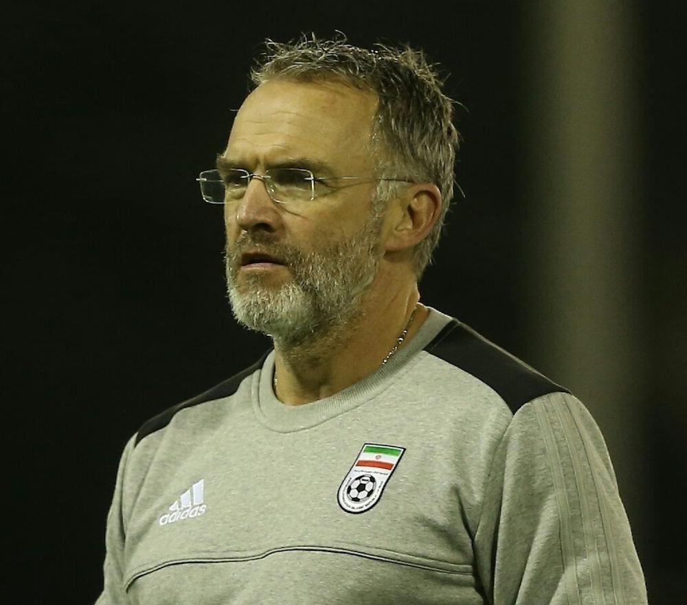 Mick McDermott as Iran coach   Motherwel\ news