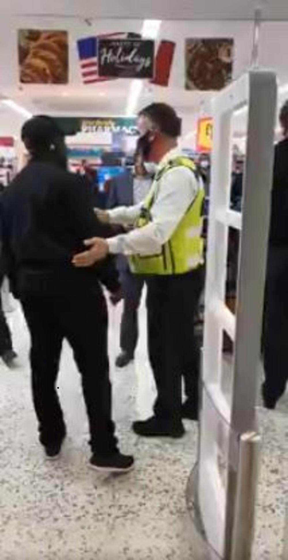 Morrisons security worker