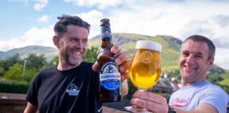 Men holding beer