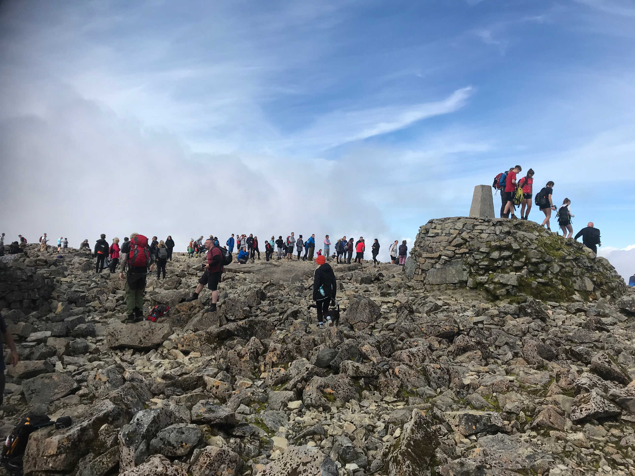Further images show crowds gathering on Ben Nevis  By Deadline News,Scottish News