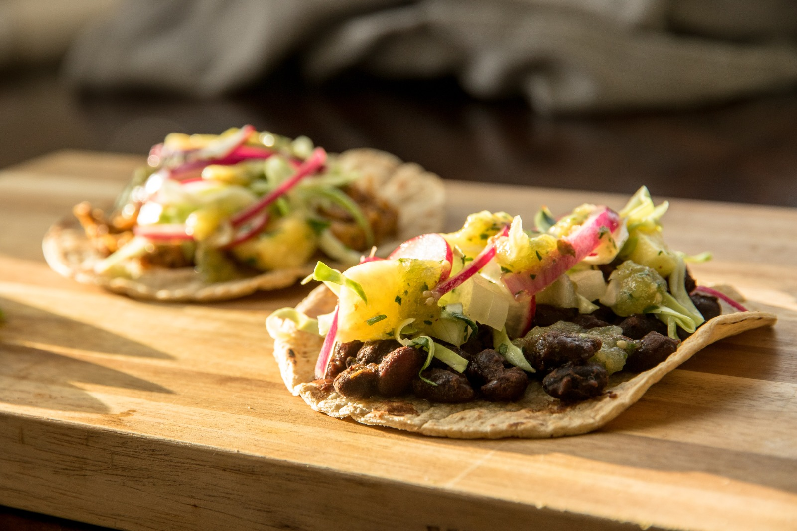 The taco's to be served at the tasting- Business News Scotland