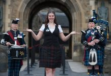 Edinburgh Castle has reopened its door for the first time since March