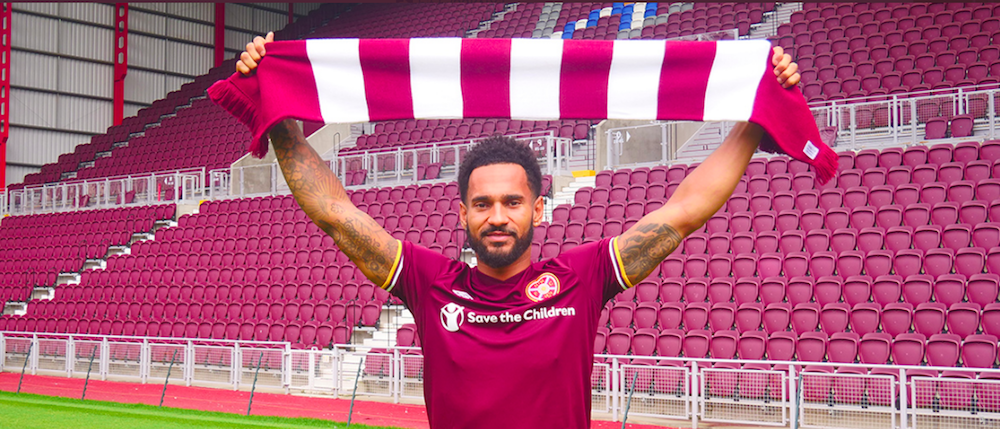 Jordan Roberts is unveiled at Tynecastle | Hearts news