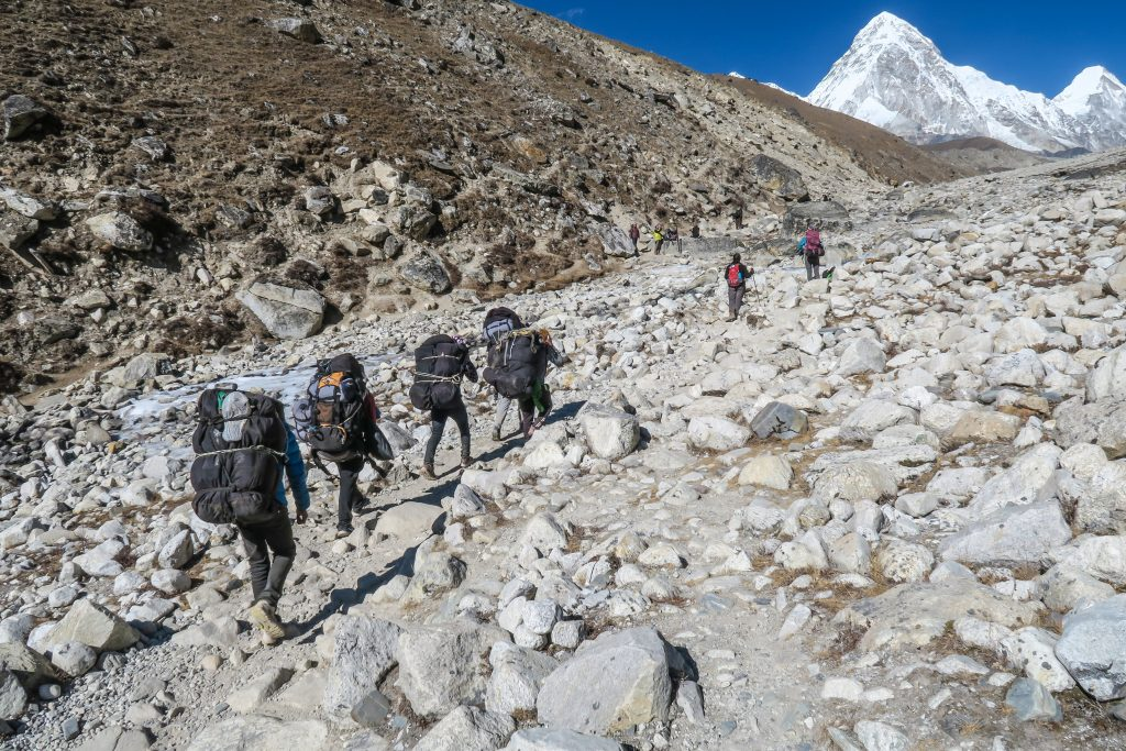 People looking for trekking holidays in the Himalayas
