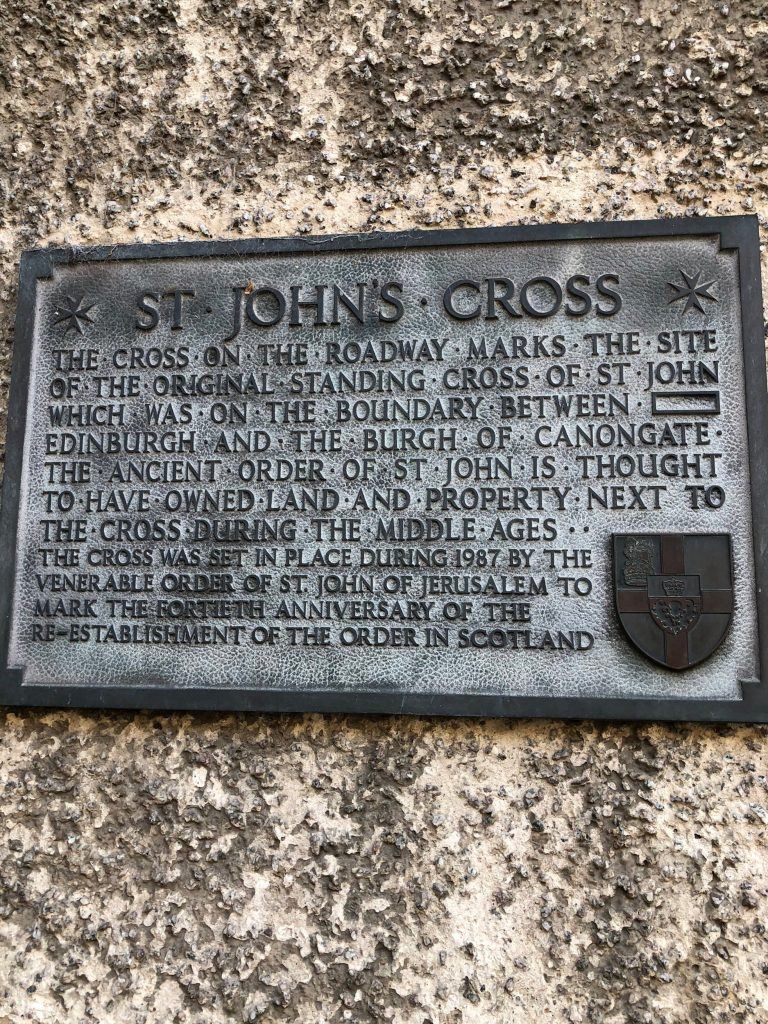 Furious local lash out over tarmack on the Royal Mile over the St John's Cross