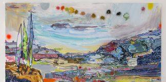 Lisa Sanditz painting Fumigation Tentssmall - Business News