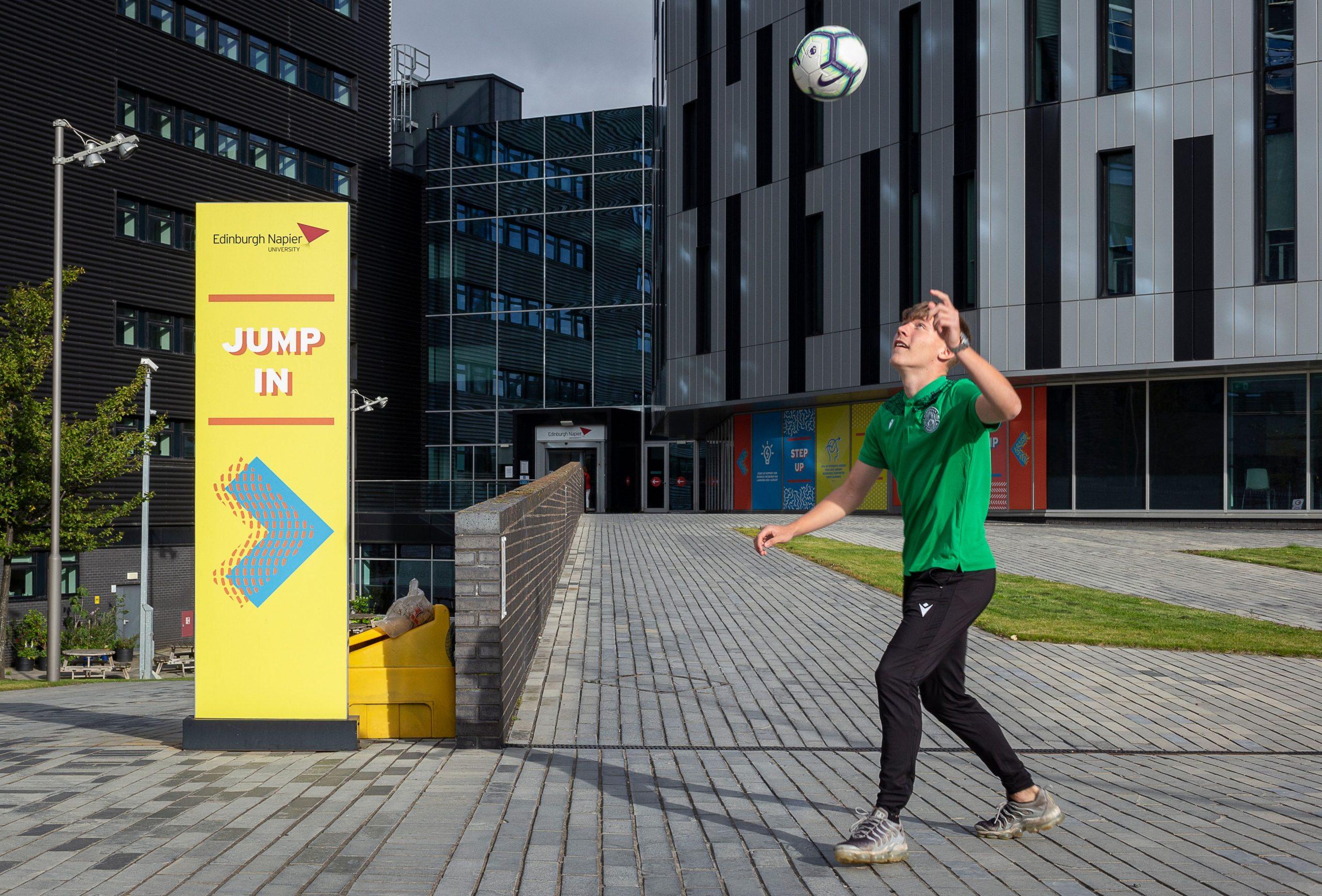 Hibernian youth player -Scottish News