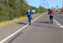 Bikers filmed themselves performing wheelies on motorway. Viral News