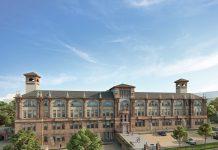 CALA sales and marketing Boroughmuir development exterior