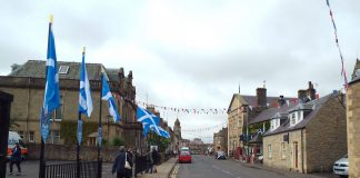 Saltire Flags- Scottish News