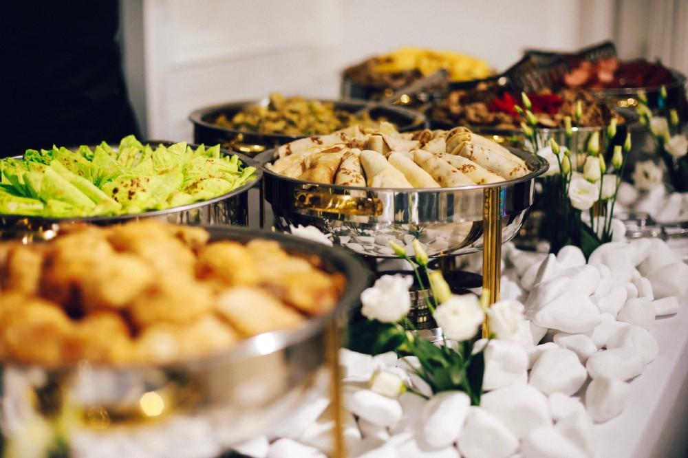 A picture of catering