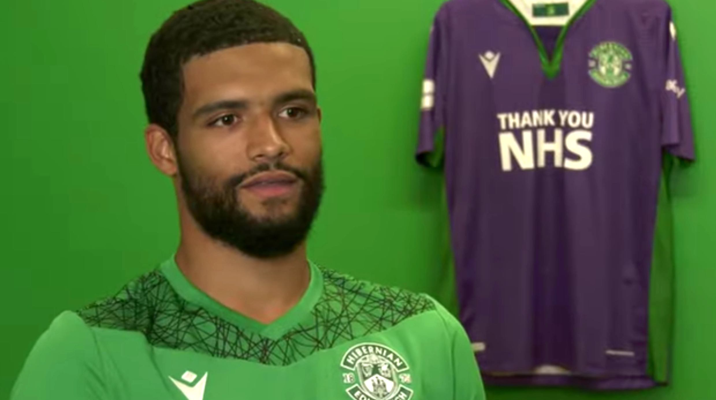 New Hibs goalkeeper Dillon Barnes   Hibs news