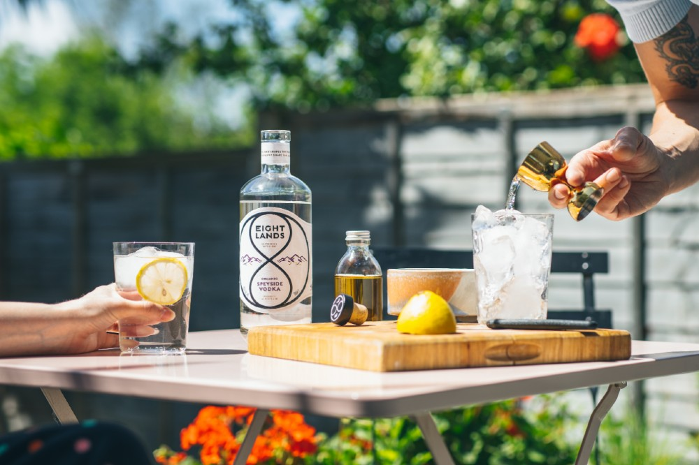 Eight Lands Organic Speyside Vodka arrives in Canada- Food and Drink News Scotland