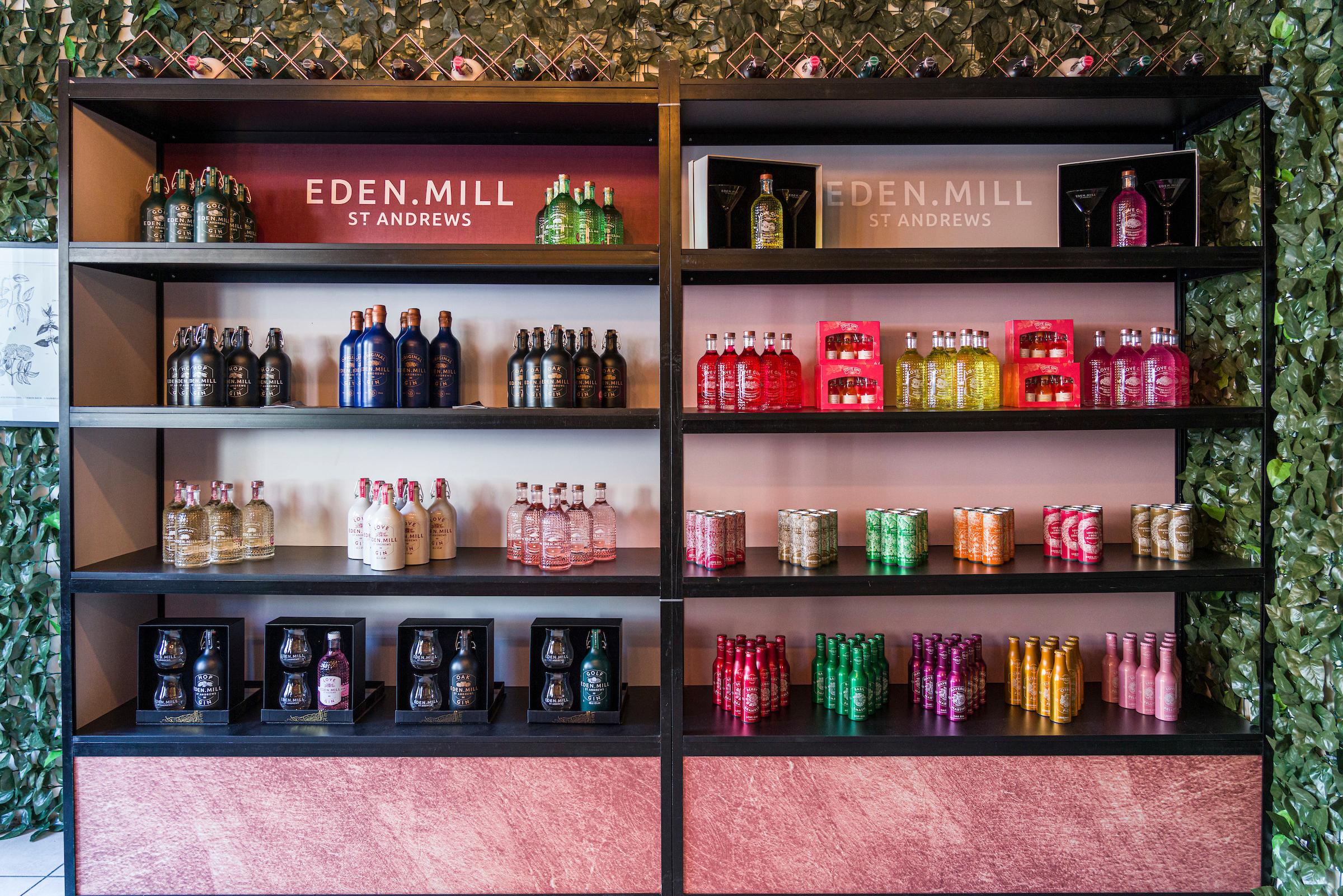 Bottles of Eden Mill-Business News Scotland