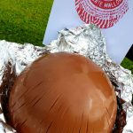 A picture of a giant Tunnock's Tea cake- Food and Drink News Scotland