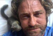 "Gerard Butler has dubbed himself the ""animal whisperer"""