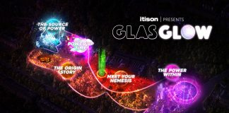 Itison relaunch a social distant GlasGLOW for Halloween