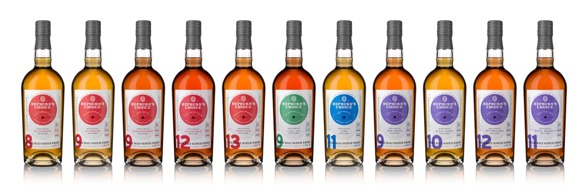 Bottles of Hepburns range- Food and Drink News Scotland