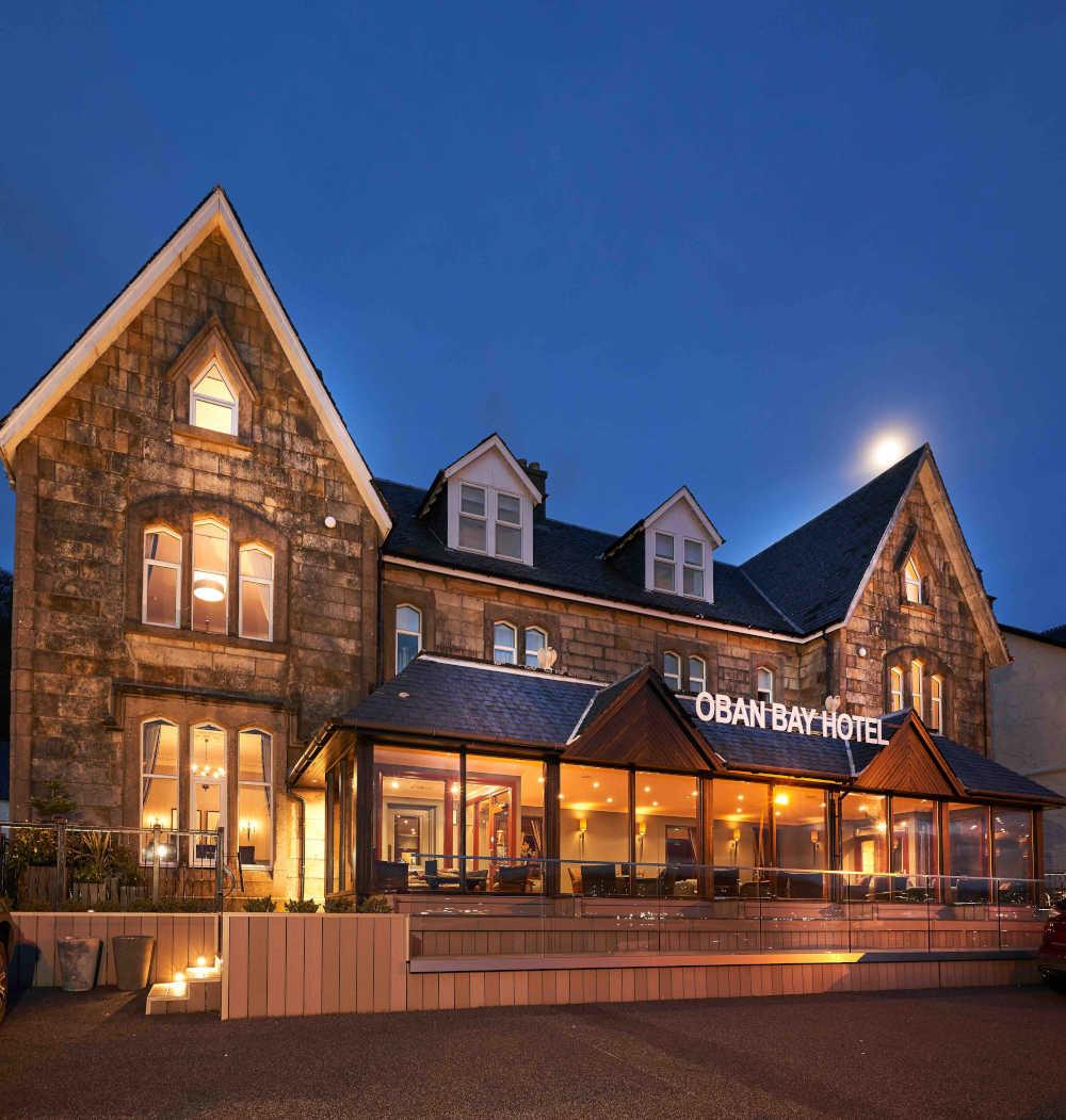 Crerar Oban Bay Hotel exterior
