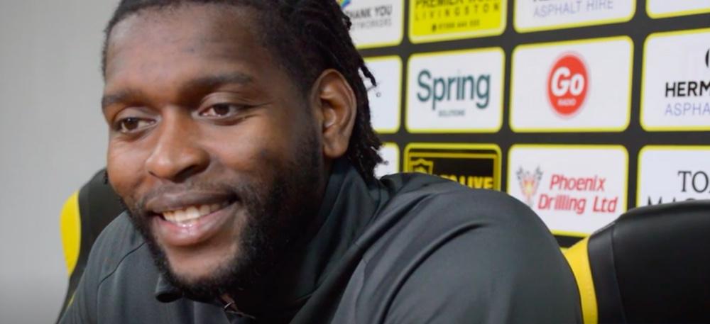 Jay Emmanuel-Thomas came through the youth ranks at Arsenal | Livingston news